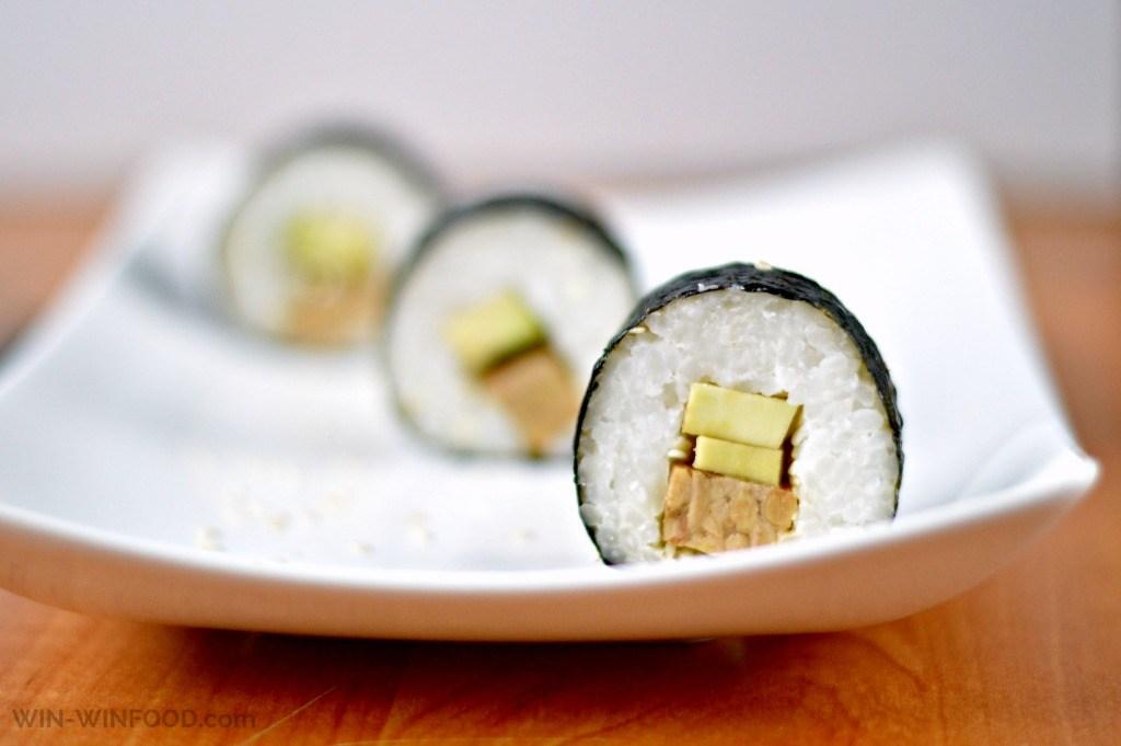Mains Tempeh Sushi
