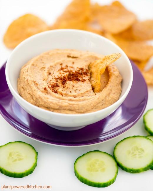 Hummus Spiced Sweet Potato