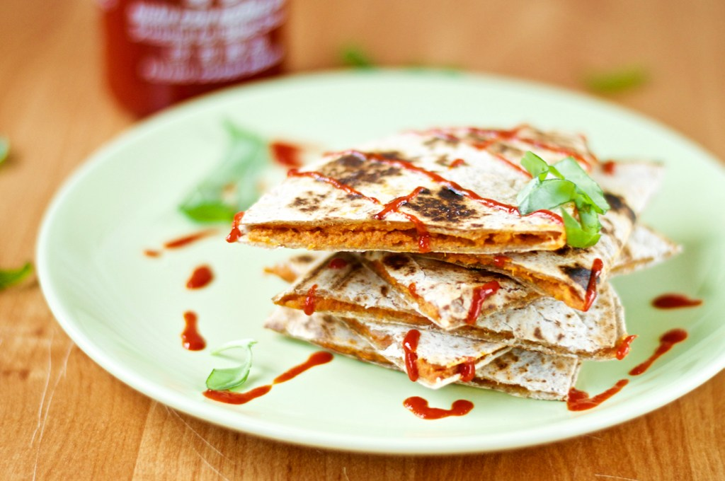 SSS Sweet Potato Quesadillas