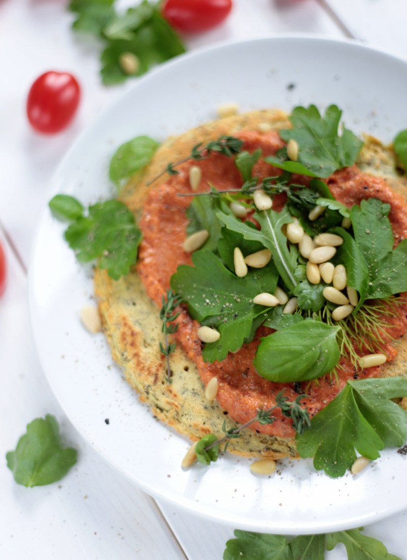 Breakfast Chickpea Tomato