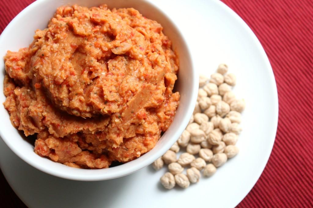 Hummus Balsamic Red Pepper